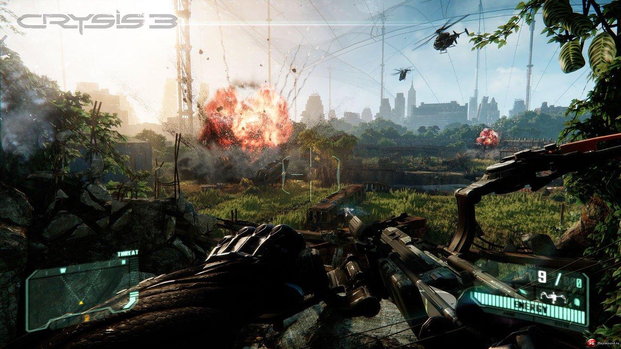 Crysis 3  Hunter Edition (2013) PS3 скачать через торрент бесплатно