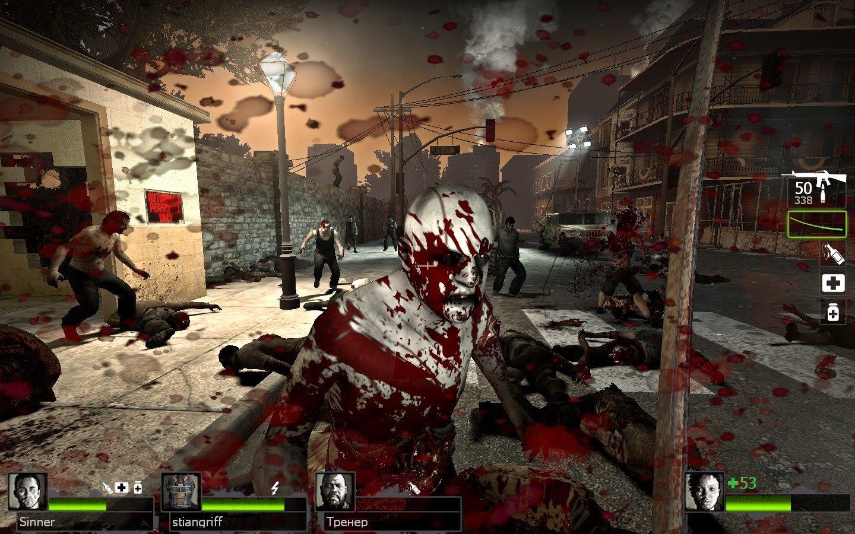 Новый орлеан и саванна, кладбища и топи, это ожидает играющих, принимающих участие в стрелялке.
