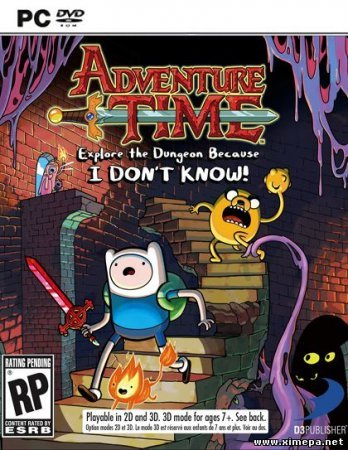 Adventure Time: Explore the Dungeon (2013) PC