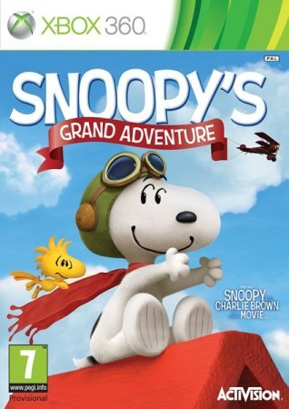 The Peanuts Movie: Snoopy's Grand Adventure (2015) Xbox360