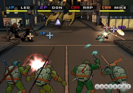 Teenage Mutant Ninja Turtles 3: Mutant Nightmare (2005) Xbox360