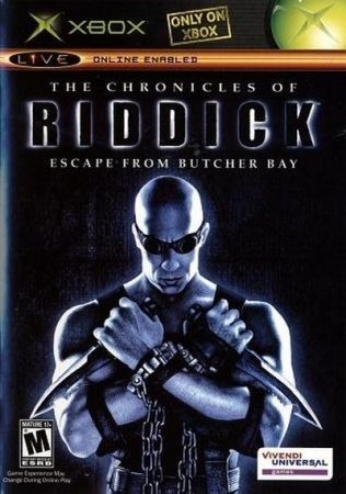 The Chronicles of Riddick: Escape From Butcher Bay (2004) Xbox360
