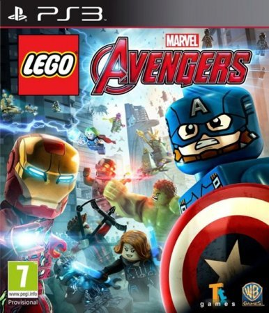 LEGO Marvel's Avengers (2016) PS3