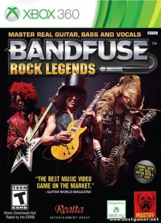 BandFuse: Rock Legends (2013) XBOX360